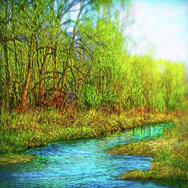 Joel Bruce Wallach - Springtime River Drifting