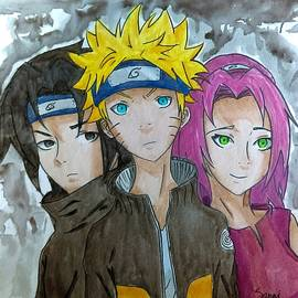 Sanai Grier - Squad Anime