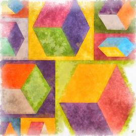 Square Cubes Abstract