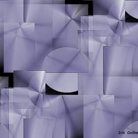 Iris Gelbart - Squares and Circles in Violet