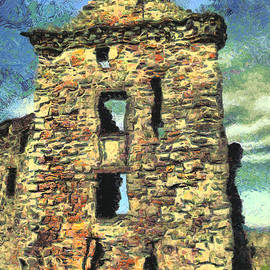 St. Andrews Castle Ruins by Stacey Sather