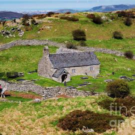 Adrian Evans - St Celynnins old church, Llangelynnin