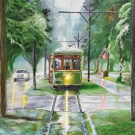St. Charles Avenue Trolley by Nicolas Avet