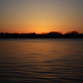 Richard Andrews - St Clair River Sunset