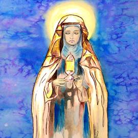 St. Clare of Assisi by Myrna Migala