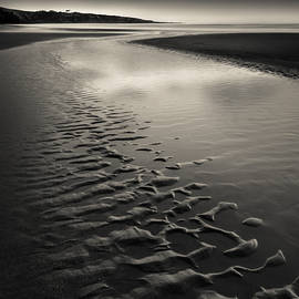 St Cyrus Sand Ripples by Dave Bowman