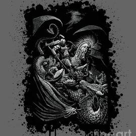 St. George and Dragon T-Shirt - Stanley Morrison
