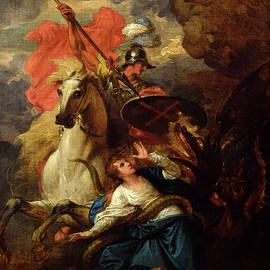 Benjamin West - St. George and the Dragon
