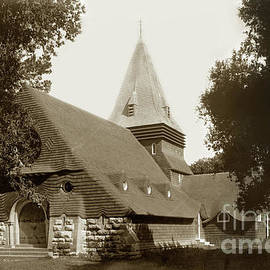 St. Johns  Episcopal Church, Monterey circa 1900