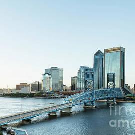 Kay Brewer - St Johns River Skyline, Jacksonville, Florida