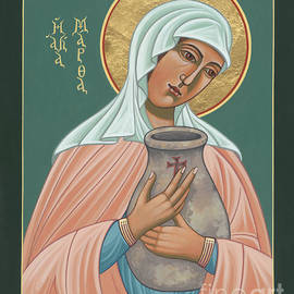 St Martha Of Bethany  by William Hart McNichols