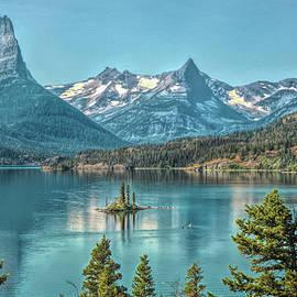 St Mary Lake by John M Bailey