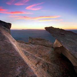 Bill  Robinson - St Mary Peak Sunrise