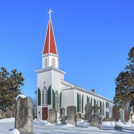 St. Mary's Catholic Church DHFX0012 by Gerry Gantt