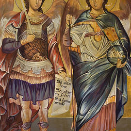 St. Michael and St. Gabriel by Vali Irina Ciobanu