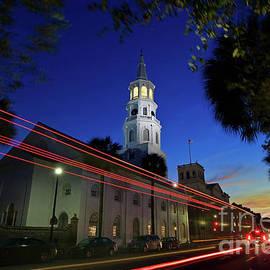 St. Michael's Episcopal Church In Charleston, South Carolina by Sam Antonio Photography