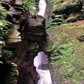 Richard Brookes - St Nectans Kieve Waterfall