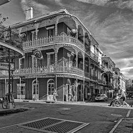 Steve Harrington - St Peter St New Orleans bw
