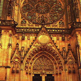 Jenny Rainbow - St. Vitus Cathedral. Architectural Details of Facade
