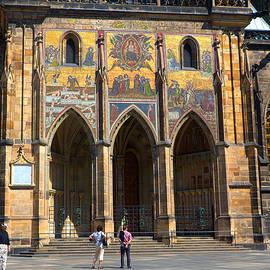 C H Apperson - St Vitus Cathedral Entrance