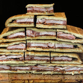 Stack of Sandwiches Valencia Spain by Phil Cardamone