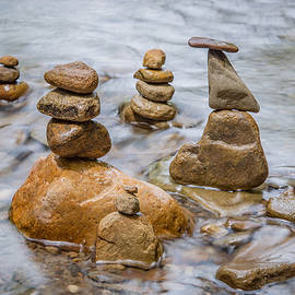 Stacked Rocks by Dale Kincaid