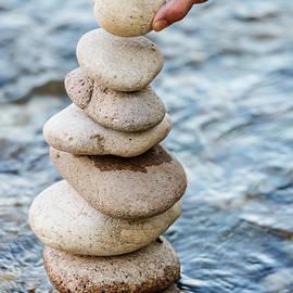 Vishwanath Bhat - Stacking the pebbles