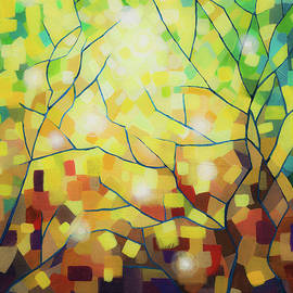 Stained Glass Forest by Dinah Rau