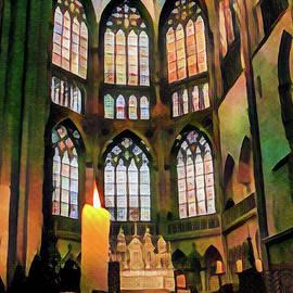 Lisa Lemmons-Powers - Stained Glass in Regensburg 2