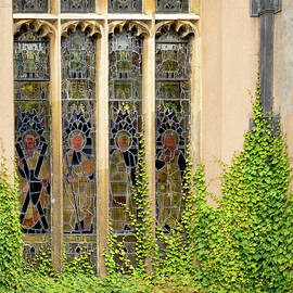Stained Glass Ladies by Jean Noren