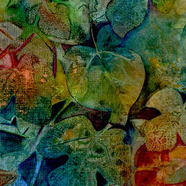 Stained Glass Leaves by Carla Parris