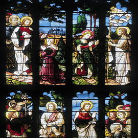 Sally Weigand - Stained Glass Window