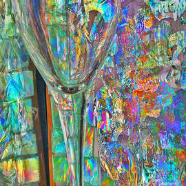 Rob Mandell - Stained Wine Glass