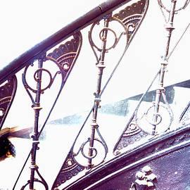 Kae Cheatham - Stair Railing Abstract