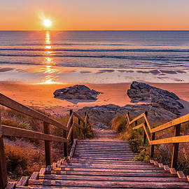 Stairs to the sunset by Dmytro Korol