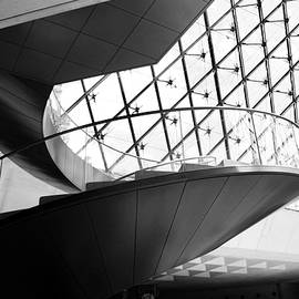 Stairs Up Louvre by Lexi Heft
