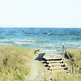 Susan Maxwell Schmidt - Stairway to Sanctuary