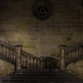 Stairwell Charles Bridge Prague - Steve Gadomski
