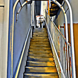 Stairwell From The Street