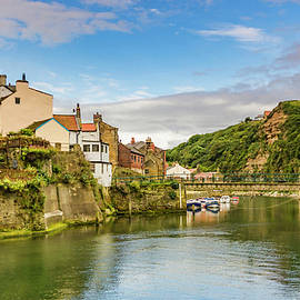 Staithes On A Sunny Day