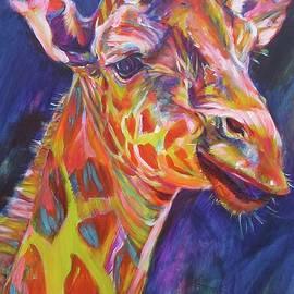 Giraffe by Karin McCombe Jones