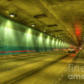 Reid Callaway - Standing Almost In Traffic The Tetsuo Harano Tunnel Hawaii Collection Art