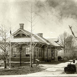 Stanford L and N Depot by Sharon Popek