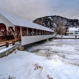 Steve Brown - Stark Covered Bridge in the Dead of Winter