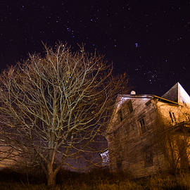 Starry Night Farmhouse by Kirkodd Photography Of New England