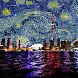Starry Night Toronto Canada by Movie Poster Prints