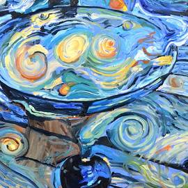 Starry Starry Martini by Donna Tuten