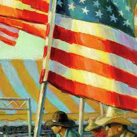 Stars, Stripes, And Cowboys Forever by Lesley Spanos