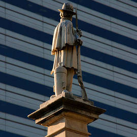 Statue Of A Soldier In Columbia South Carolina by Susanne Van Hulst
