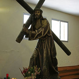 James Connor - Statue of Jesus Carrying The Cross